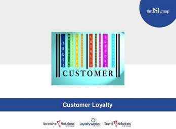 CustomerLoyaltyIncentives