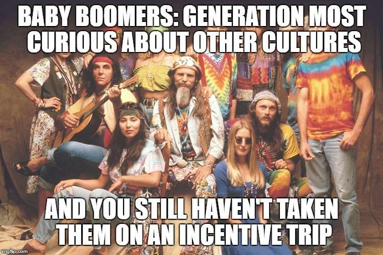 baby boomers incentive travel