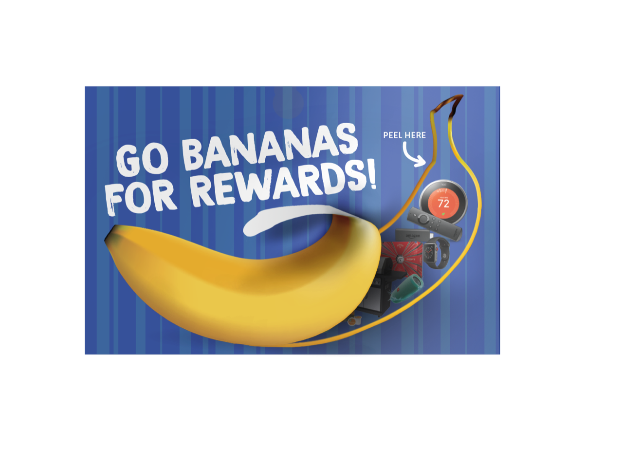 incentive marketing campaign - go bananas