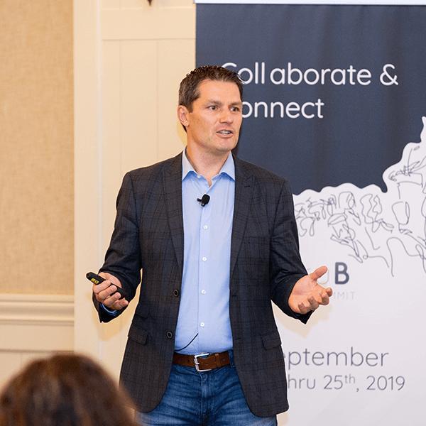 BthruB Incentive Industry Keynote Speaker Jay McBain