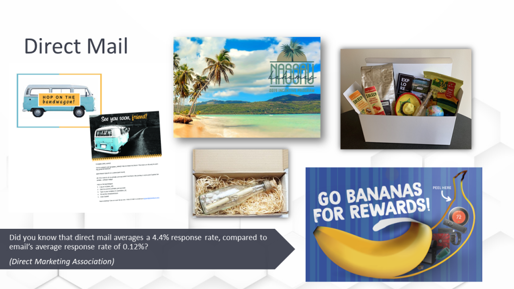 Incentive Communications Direct Mail