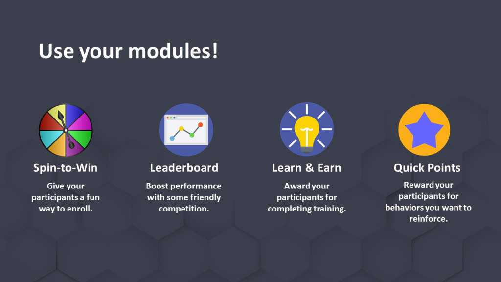 Loyalty Marketing Incentive Software Modules