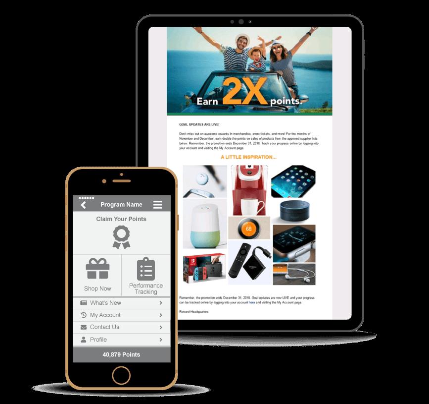 sales incentive rewards platform
