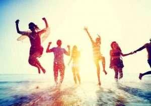 people enjoying Travel Incentive Program