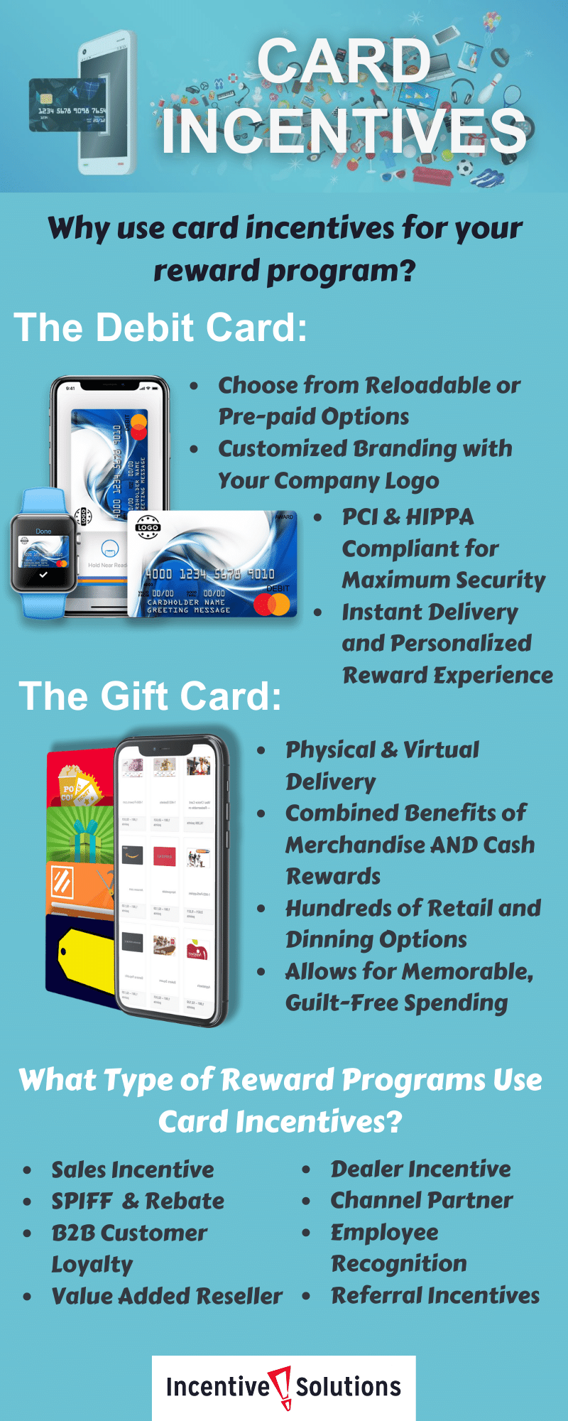 Incentive card programs