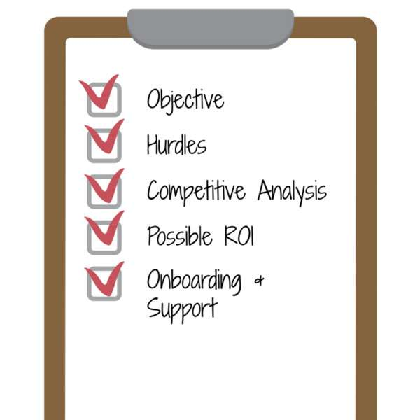Executive Support Check List