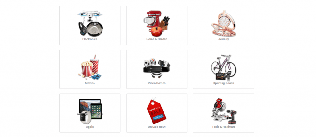 online rewards catalog international